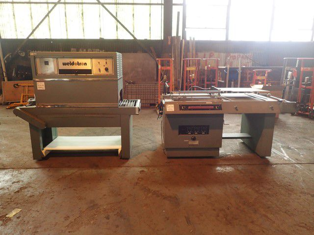 Weldotron 5202-A-P L Bar Sealer With Tunnel