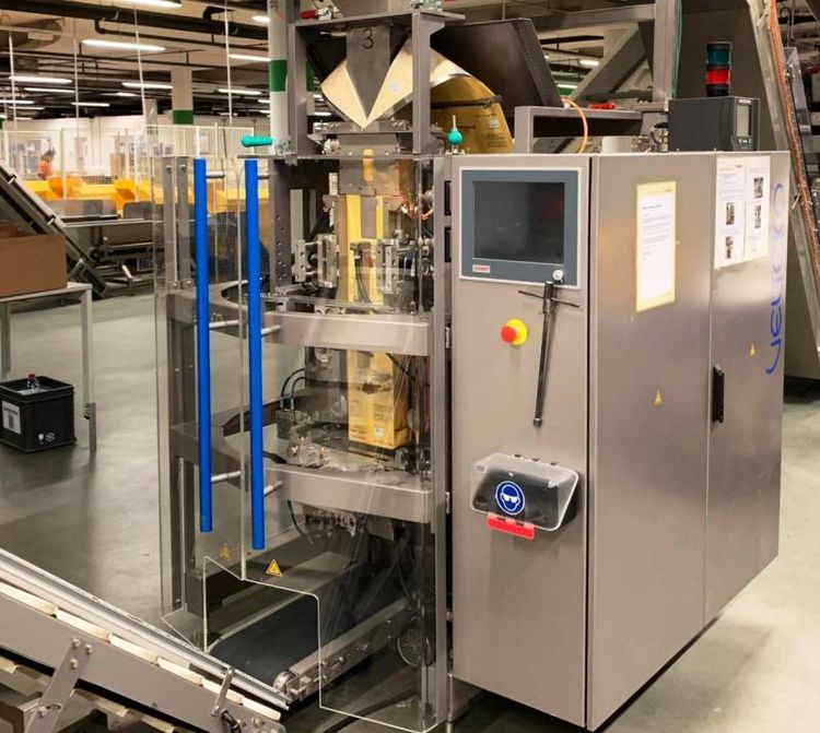 Velteko Packaging Machine (VPM) HSV 101B QuadroSeal vffs machine