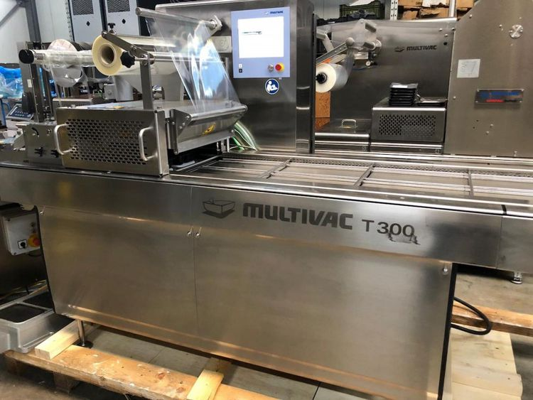 Multivac T300 automatic traysealer