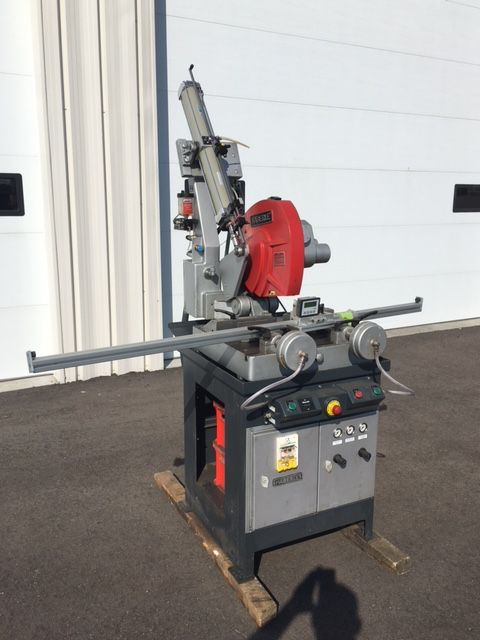 Haberle H450/H METAL CUTTING COLD SAW semi automatic
