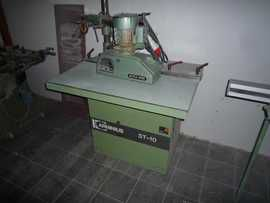 Holzher ST 10, Grinding and Polishing table