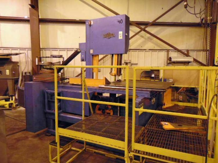DoAll TF-2025M TILT-FRAME VERTICAL BAND SAW CNC Control