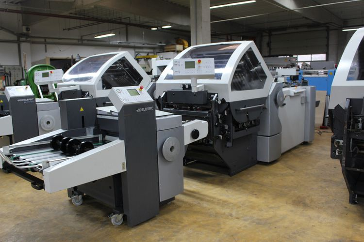 Heidelberg BUH-66/4-KL, Folding Machine
