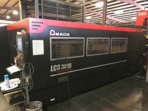 Amada LCG3015 3500 WATT AMADA LCG3015 CO2,5' X 10',MFG:2014,INSTALL:2015 NEW TURBO BLOWER 2019