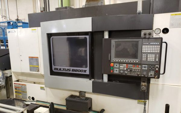 Okuma CNC Control 12000 RPM MULTUS B200II W 2 Axis