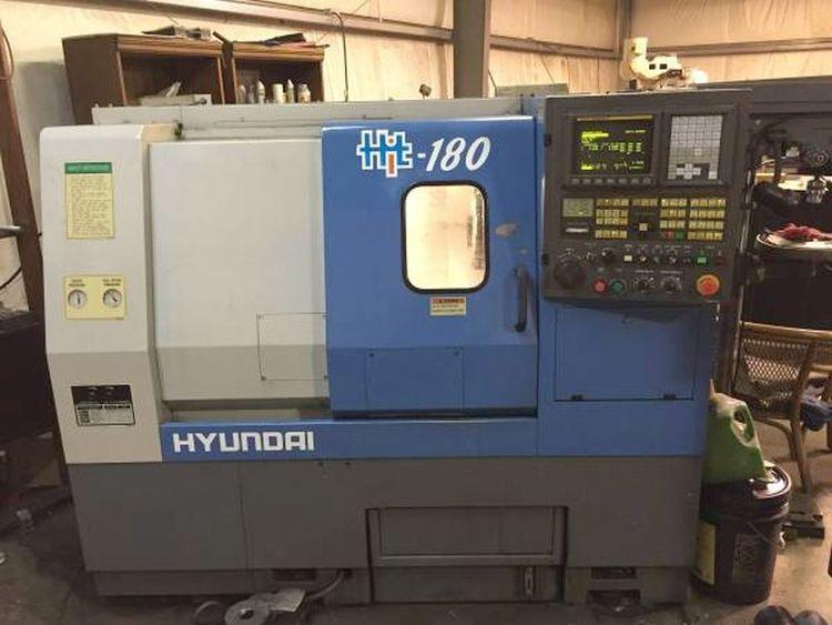 Hyundai FANUC OiT CNC CONTROL Max. 6000 rpm HiT 180 2 Axis