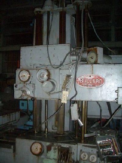 Bullard HORIZONTAL TABLE TYPE BORING MILL  1000 rpm