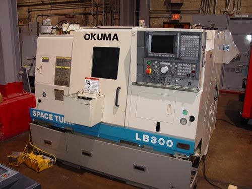 Okuma OSP U100L CNC 3800 rpm LB-300 BIG BORE 2 Axis