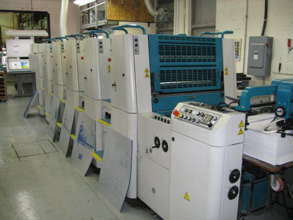 Polly 566P , 5 colors Offset machine 48.5 X66 Cm