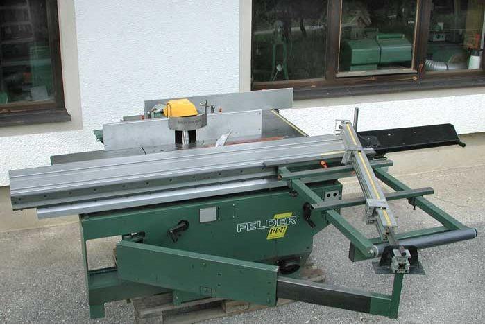 Felder KFS- 37, 2-way combination Circular saw & Milling