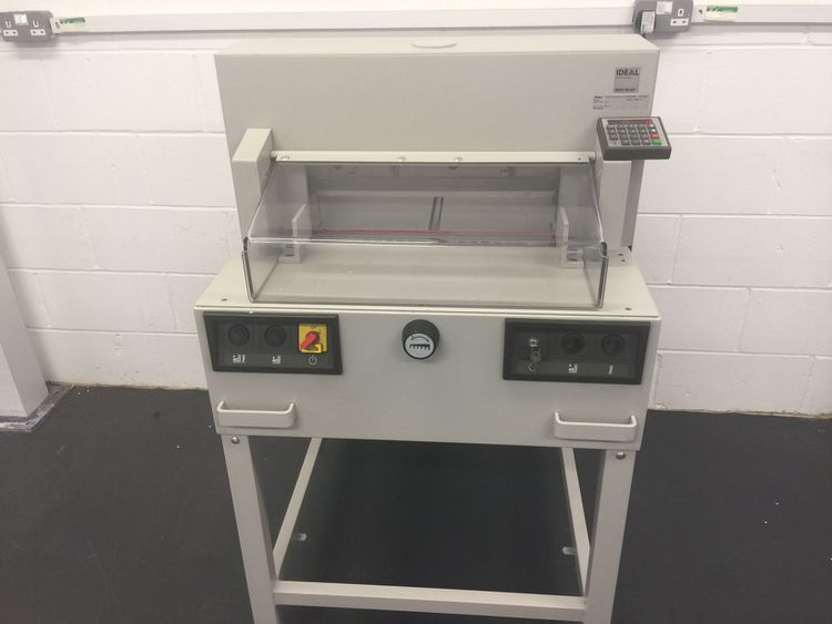 Ideal 4850-95 EP, Programmatic Guillotine