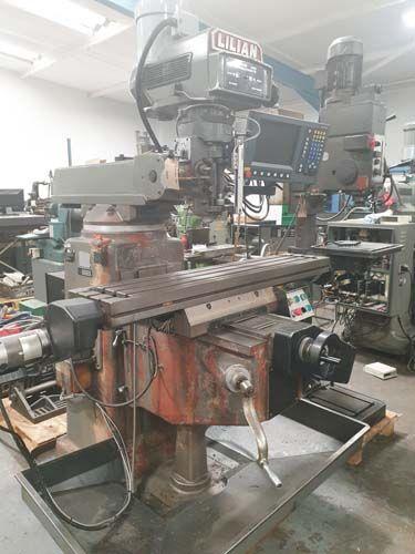 Lilian 3VH CNC / MANUAL TURRET MILL 4200 rpm