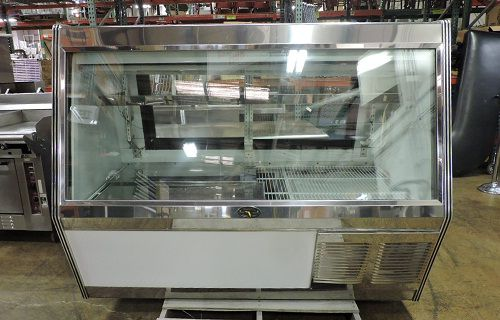 Marc Commercial Refrigerated Self-Contained Double Duty Display Case
