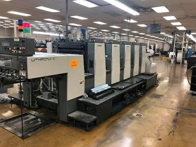 Komori LITHRONE L 528 EH