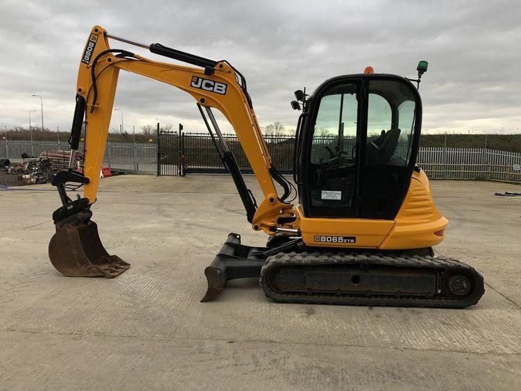 JCB 8065 ZTS Excavator