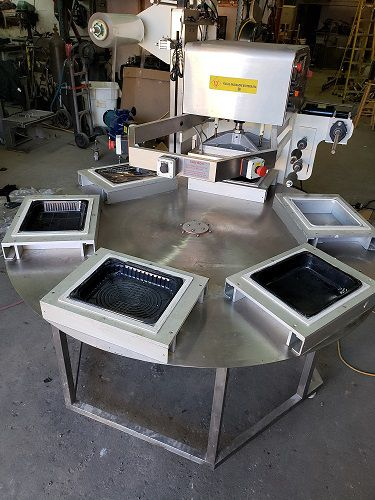 Other SUS  6CF ROTARY TABLE FROM VISUAL PACKAGING SYSTEM