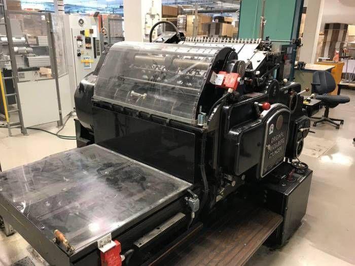 Heidelberg SBG, Automatic die cutting cylinder
