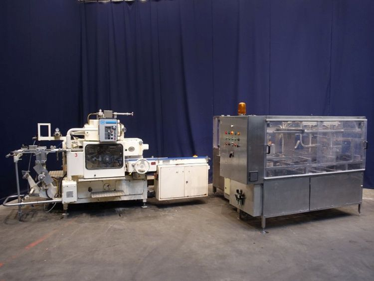Sig, Simon Freres FD140 ,MFS85 Complete butter packaging line