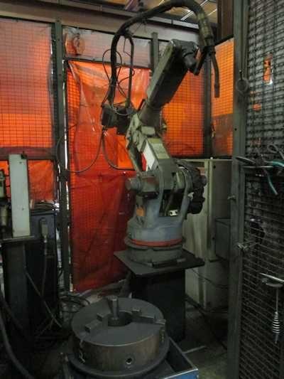 Motoman YASNAC MOTOMAN ENCM-RM 6015 Robot 6 Axis
