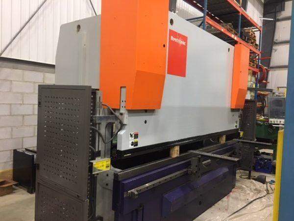 Bystronic Xact 160Ton 7-Axis CNC Hydraulic Press Brake 176 Ton