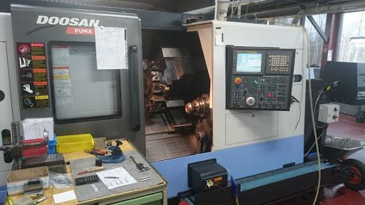 Doosan Control Fanuc 18 i - TB Variable Puma 1500 SY 2 Axis