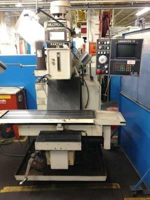 Milltronics PARTNER IV CNC VERTICAL MILL