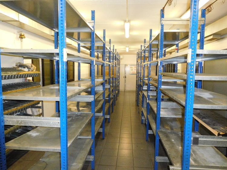 Other Office furniture, PCs, warehouse shelves Warehouse processing department