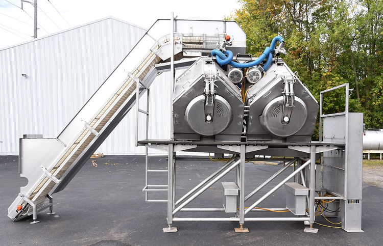 Heinzen AB100-2 Automated Batch Drying System