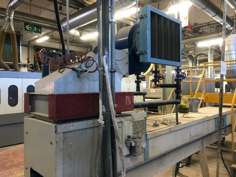 Hot air oven for profiles