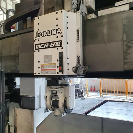 Okuma MCR-BIII CNC BRIDGE MILL  8000 rpm