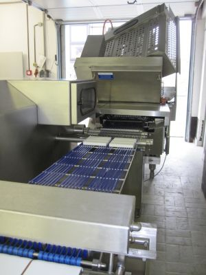 Weber CCS 902 MCS Automatic High Capacity Cheese Slicing Machine Line