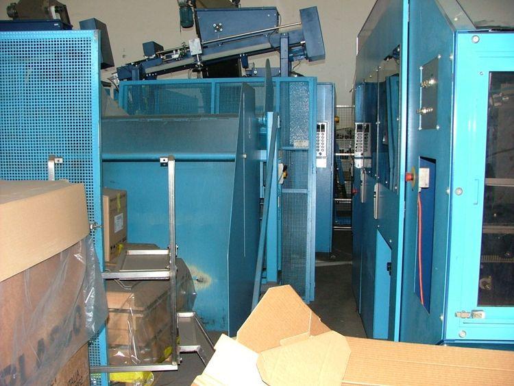 Tetra Pak DBX6 lineair blow moulding machine