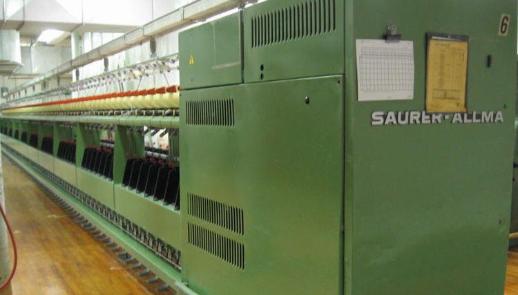 6 Allma, Saurer TM180B Twister Machines