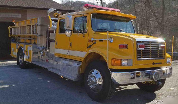 International Fire Truck