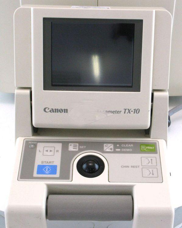 Canon TX-10 NonContact Tonometer