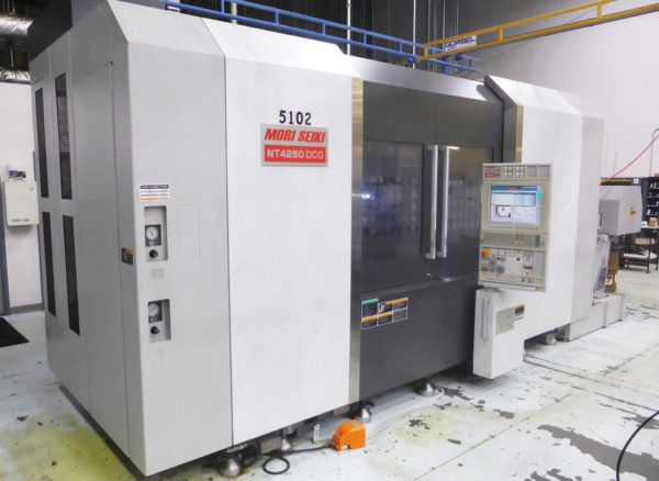 Mori Seiki MORI MSX701V CNC CONTROL 12000 rpm NT4250 DCG/1500 Multi-Axis Turning & Milling Center 4 Axis