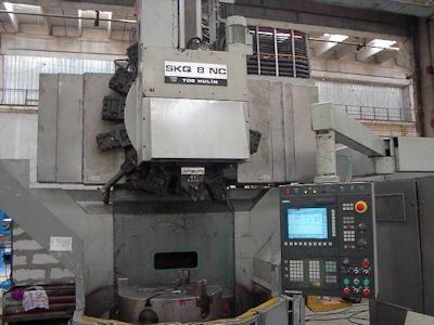 TOS SKQ 8 CNC Vertical lathes - singlecolumn