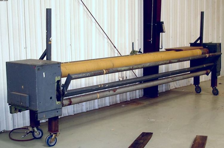Two Roll Batcher / Winder / Rollup
