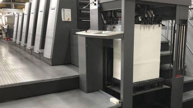 Heidelberg CD74-4+LYX F UV 23 x 29 inch