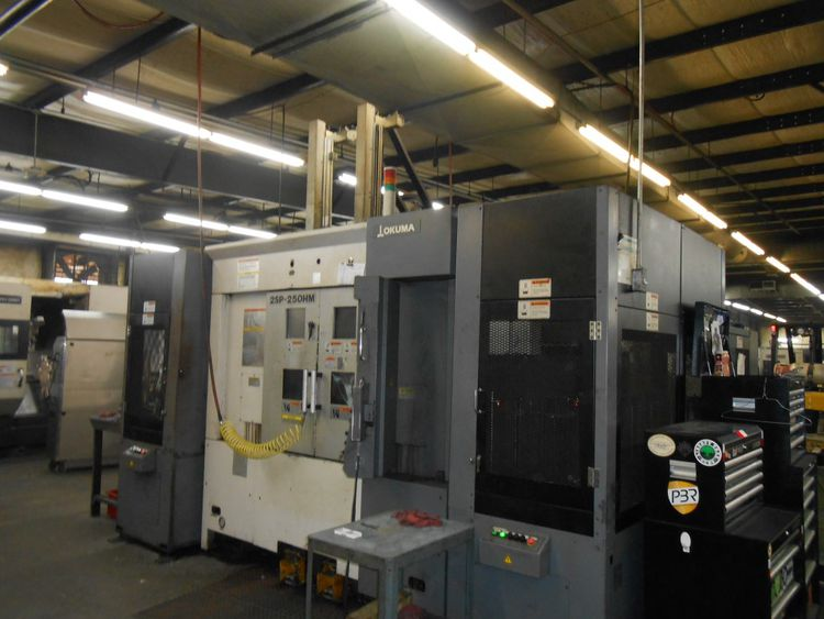 Okuma OSP-P200LA 3200 RPM 2SP-250HM 2 Axis