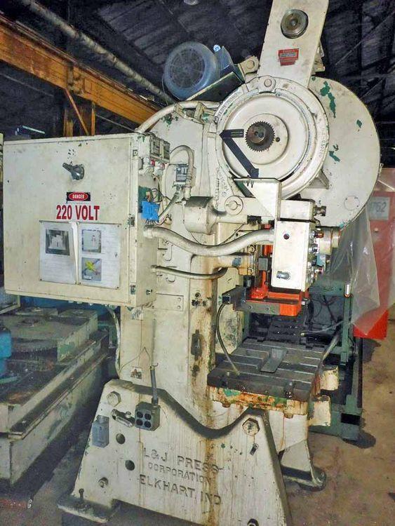 L & J OBI Flywheel Press 45 TON