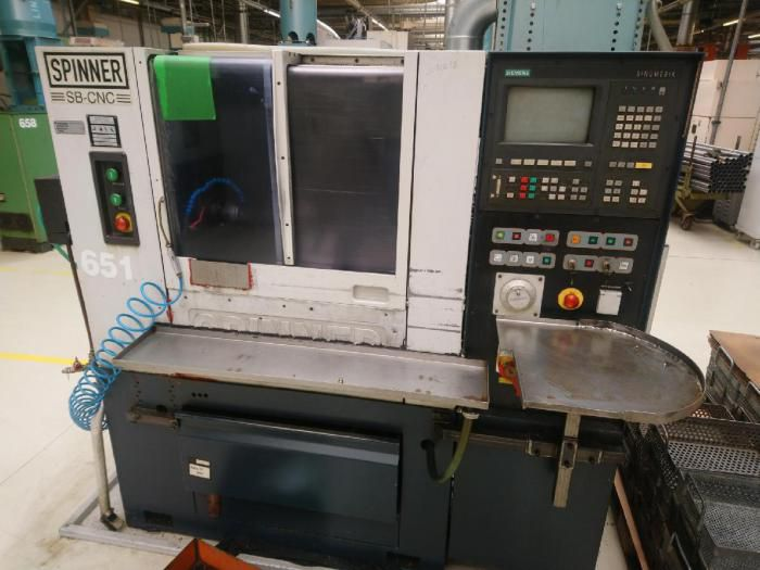 Spinner cnc control