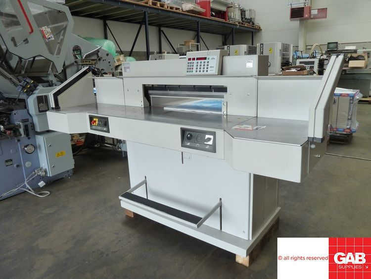 Ideal 7228-95 EC3, Paper guillotine