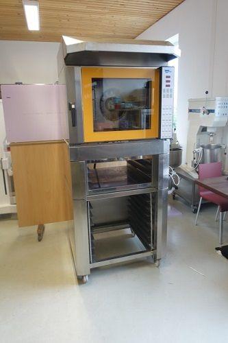 Wiesheu B4 TS 300 in-store baking oven