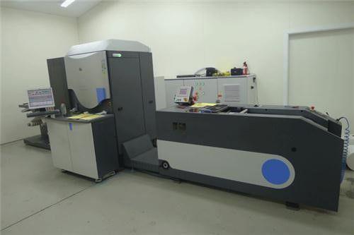 HP INDIGO LABEL PRESS 4500