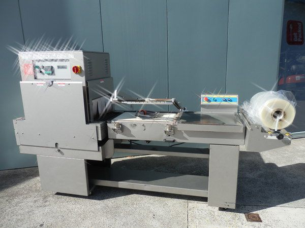 Preferred Packaging PP1622, Combo Unit L-Bar Sealer and Heat Shrink Tunnel
