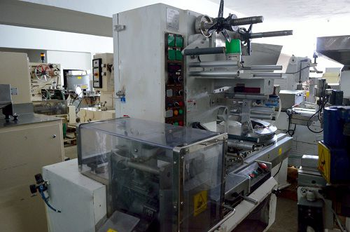 Eurosicma B75/DS  High Speed Candy Wrapping Machine