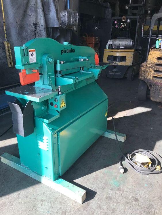 Piranha PIII Hydraulic Ironworker 50 Ton