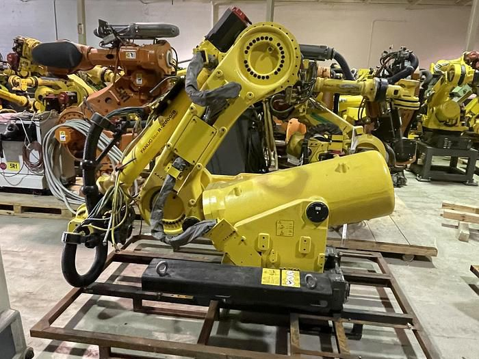 Fanuc R2000iB/100P 6 Axis 6 AXIS CNC ROBOT WITH R30iA CONTROLLER