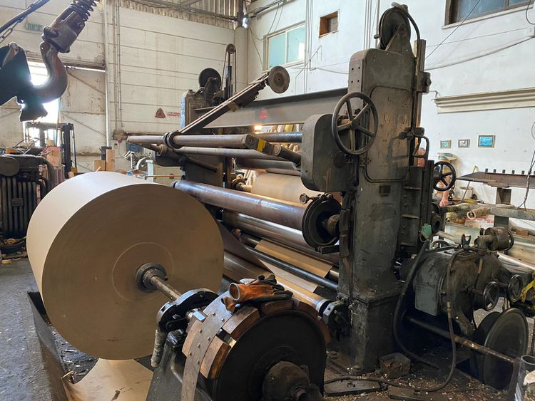 GOBEL U 7 L, ROLL SLLITTING REWINDING MACHINE 2300 mm